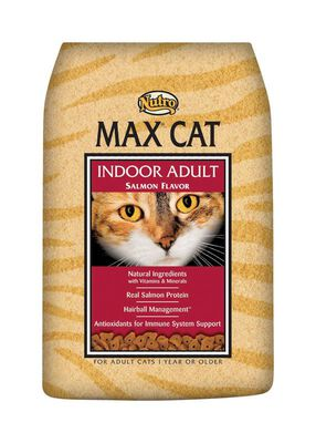 Nutro Max Cat Indoor Salmon Dry Adult Cat Food 3 lb.