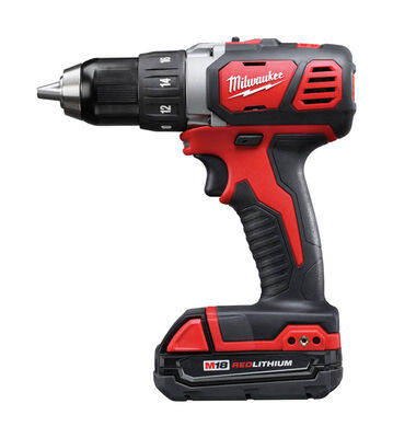 Milwaukee M18 Cordless Compact Drill/Driver 18 volts 2 Speed 0-400/0-1 800 rpm 1/2 in. Li-Ion