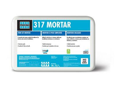 Mortar Thinset Floor/Wall Gray 317WGG