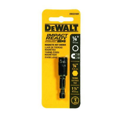 """1/4"""" x 1-7/8"""" Magnetic Nut Driver - IMPACT READY(R)"""