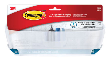 Command Shower Caddy Plastic