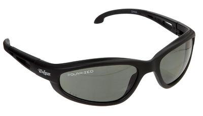 Edge Eyewear Multi-Purpose Safety Glasses Antifog Polarized Black Lens Black Frame Bulk