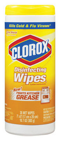 Clorox 35 pk Citrus Blend Scent Disinfecting Wipes