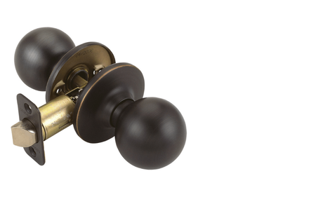 Pro Ball Hall and Closet Door Knob, Oil Rubbed Bronze