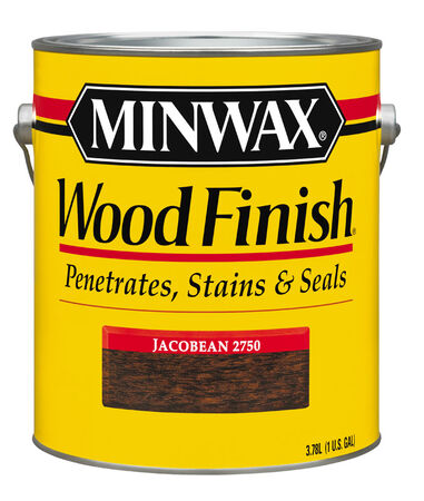 Minwax Wood Finish Transparent Oil-Based Wood Stain Jacobean 1 gal.