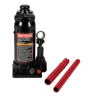 Craftsman Hydraulic Automotive Bottle Jack 6 ton Black