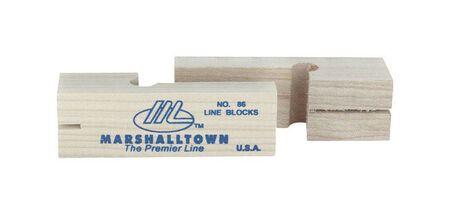 Marshalltown Wood Line Blocks 3-3/4 in. L