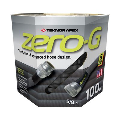 Teknor Apex Zero-G 5/8 in. Dia. x 100 ft. L Garden Hose Kink Resistant Safe for Drinking Water