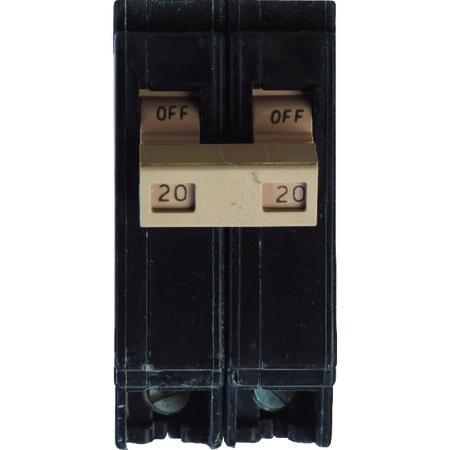 Eaton Double Pole 20 amps Circuit Breaker