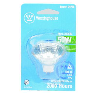 Westinghouse 50 watts MR16 Halogen Bulb 510 lumens White Floodlight 1 pk