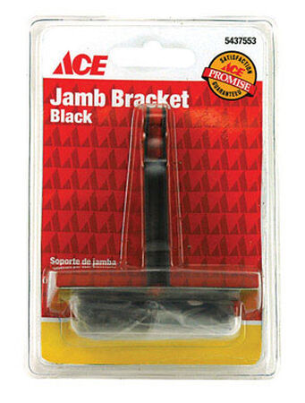 Ace Black Jamb Bracket 1 pc.