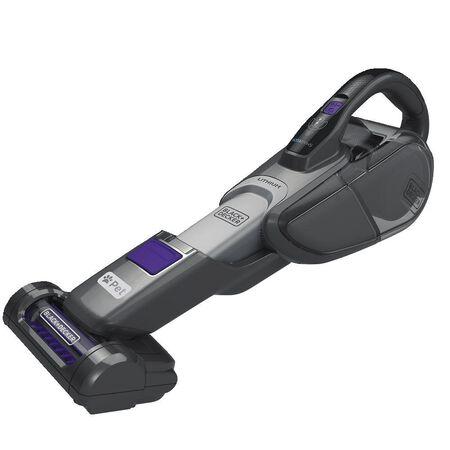BLACK+DECKER HSVJ520JMPA07 SMARTECH PET 2-in-1 Cordless Hand/Stick Vacuum, 20V Max