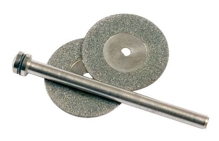 Forney 3/4 in. Dia. x 1 in. thick Diamond Wheel Kit