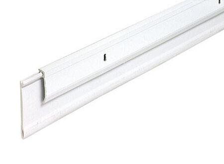 M-D Building Products Door Bottom Aluminum Door Sweep 36 in. L x 3/4 in. White