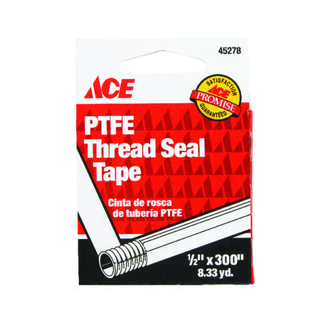 Ace 1/2 in. W x 300 in. L Thread Seal Tape