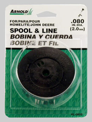 Arnold Replacement Line Trimmer Spool 0.080 in. Dia.