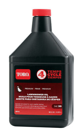 Toro SAE 30 4 Cycle Engine Lawnmower Oil 18 oz.