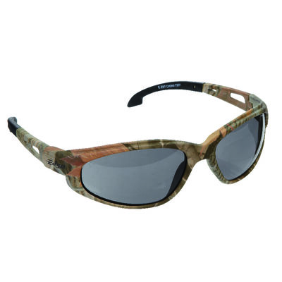 Edge Eyewear Multi-Purpose Safety Glasses Antifog Smoke Lens Camouflage Frame Bulk