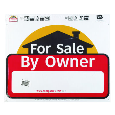 Hy-Ko English 20 in. H x 24 in. W Plastic Sign For Sale by Owner