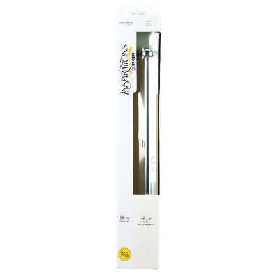 Moen Preston Chrome Towel Bar 18 in. L Zinc