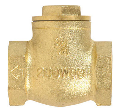 Mueller 3/4 in. IPS Brass Swing Check Valve