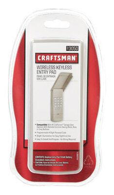 Craftsman Garage Door Opener Wireless Keyless Entry Pad 1 Door