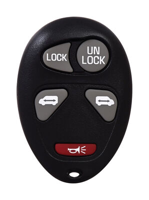 DURACELL Self Programmable Remote Automotive Replacement Key GM L2C0007T 5-Button Remote L Doub