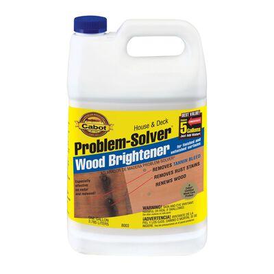 Cabot Problem-Solver 1 gal. Wood Brightener