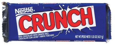Nestle Crunch Milk Chocolate with Crisped Rice Candy Bar 1.55 oz.