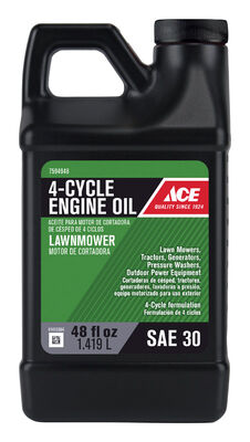 Ace SAE30 4 Cycle Lawn Mower Oil 48 oz.