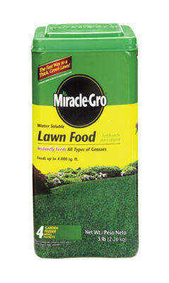 Miracle-Gro Lawn Food All Seasons Turfgrass 4000 sq. ft. Powder 36-0-6
