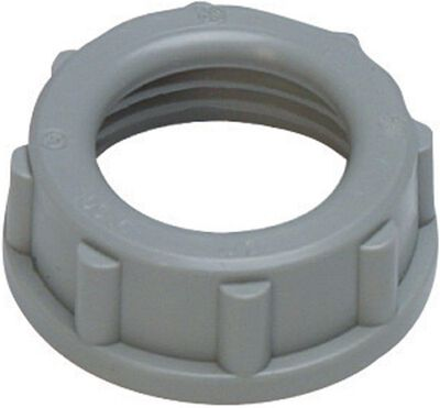 Sigma Insulating Bushing Rigid Threaded 3/4 in. UL/CSA Used on the End of Rigid and IMC Conduits an