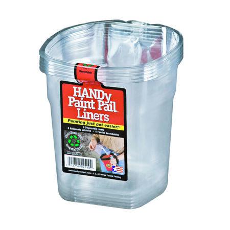 HANDy Paint Pail Plastic Liner 1 qt. Clear