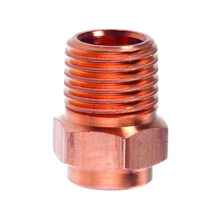 Elkhart 1/2 in. Compression x 1/2 in. Dia. Male Copper Male Adapter 10 pk