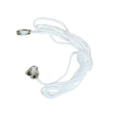 Jandorf Pull Chain White 3 ft. L 1 pk