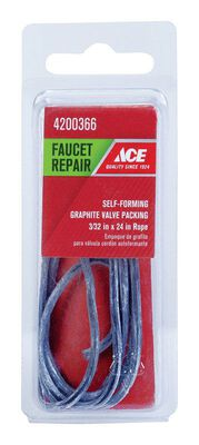 Ace 1/8 in. Dia. x 24 in. L x 24 in. Dia. Brand Packing