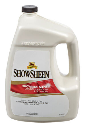 Absorbine Showsheen Fresh Hair Polish and Detangler For Horse 1 gal.