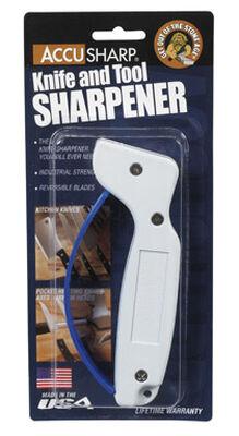 AccuSharp Metal Knife Sharpener White
