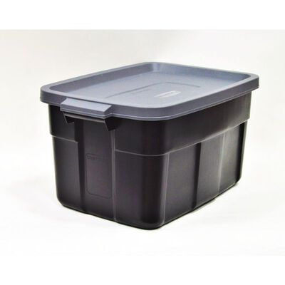 Rubbermaid Roughneck Storage Box 12.2 in. H x 15.9 in. W x 14 gal.