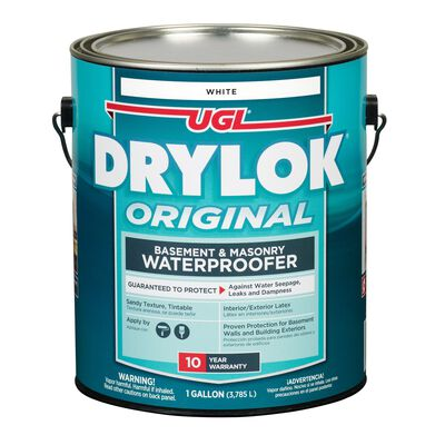 Drylok Low VOC Waterproofer White 1 gal.