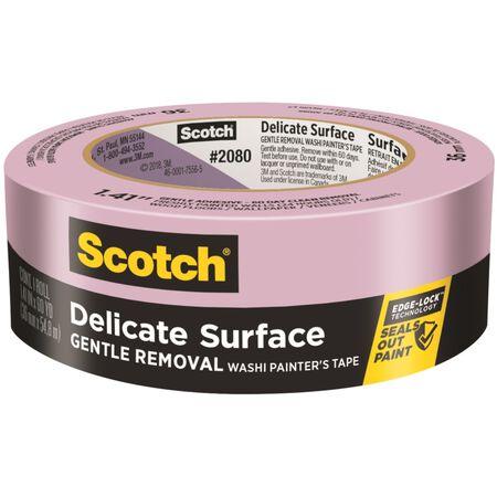 Scotch 1.41 in. W x 60 yd. L Purple Medium Strength Painter's Tape 1 pk