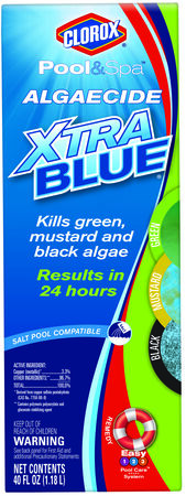 Clorox Pool&Spa Algaecide XtraBlue 40oz