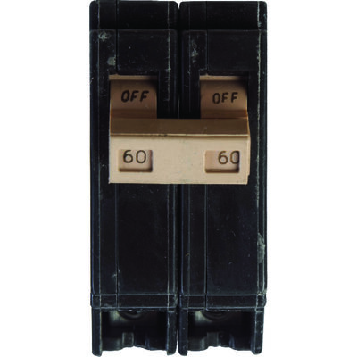 Eaton Double Pole 60 amps Circuit Breaker