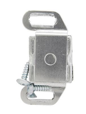 Amerock 1 in. W Aluminum Aluminum Single Magnetic Catch