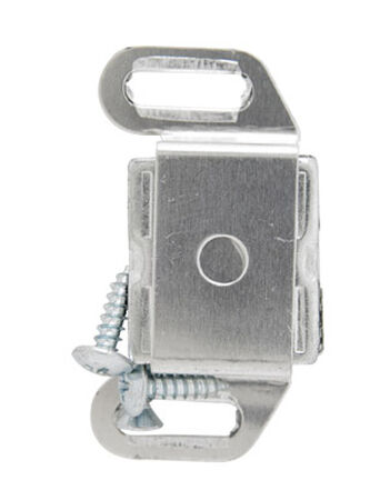 Amerock 1 in. W Aluminum Aluminum Single Magnetic Catch