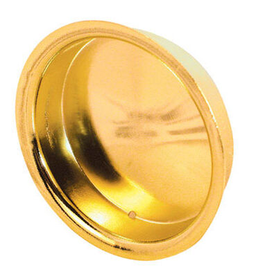 Prime-Line Brass-Plated Side mount Pull Handle