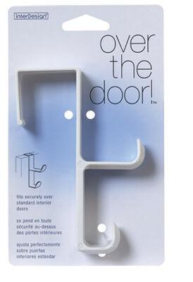 InterDesign Over the Door Hook 5-1/2 in. L Plastic 1 pk