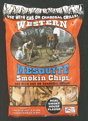 Western Mesquite Wood Smoking Chips 2-1/4 lb.