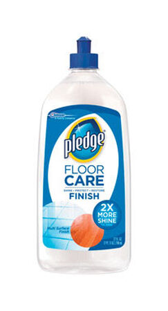 Pledge Floor Care Liquid Floor Finish Acrylic 27 oz.