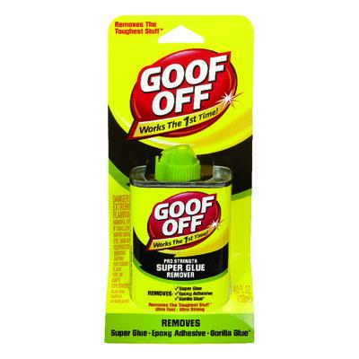 Goof Off Liquid Adhesive Remover 4 oz.